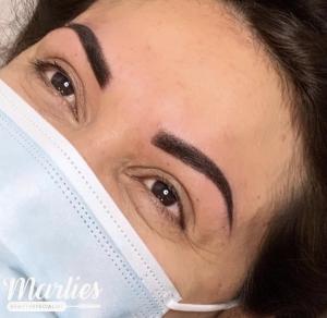 foto van permanente make-up
